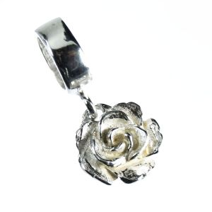 Bonaroca Charm Rose passend zu Lederarmband 6,5mm Kollektion Asmara AS3000