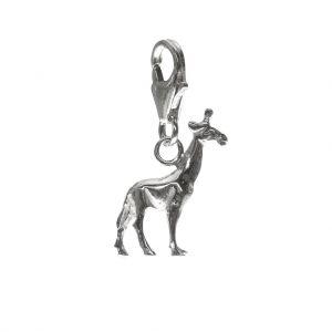 Bonaroca Charm Giraffe mit Karabiner, Sterling Silber, 4706K