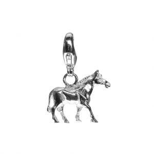 Bonaroca Charm Pferd mit Karabiner, Sterling Silber, 4707K
