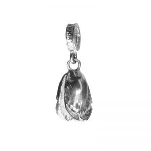 Bonaroca Charm Rosenknospe mit Öse, Sterling Silber, 4554