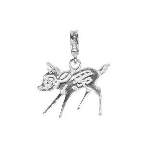 Bonaroca Charm Rehkitz Bambi / Öse, Sterling Silber, 4547