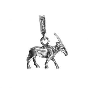 Bonaroca Charm Spiessbock- Orix mit Öse, Sterling Silber, 4704