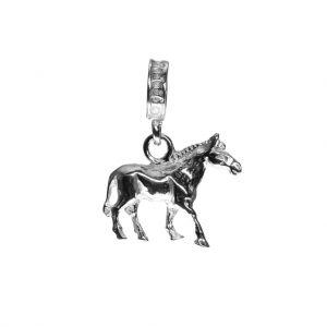 Bonaroca Charm Pferd mit Öse, Sterling Silber, 4707