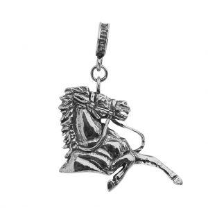 Bonaroca Charm Anhänger Traber torso / Öse Sterling Silber, 4784
