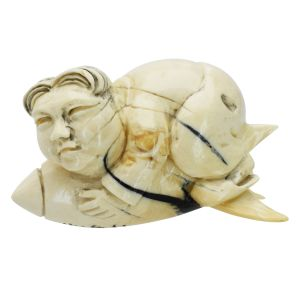 Kim J the little Rocketman Netsuke