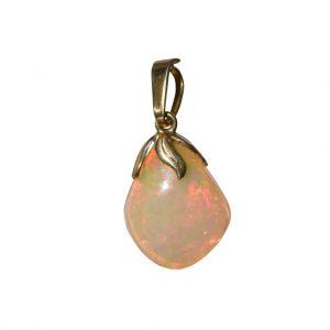 BONA ROCA  Edel Opal Anhänger in Naturform Gold 585 Fassung OP14-309