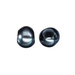1 Echte Perle grau