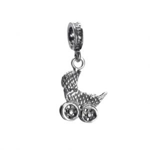 Bonaroca Charm Kinderwagen/ Öse, Sterling Silber 4533
